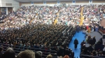 Graduation in the Gymnasium at ''The Mount''
