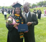 Makeda and her dad...Me!