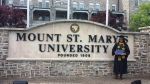 My daughter recently graduated from Mount St. Mary's University. Here are a few photo's of the exciting day  -Damon Nock